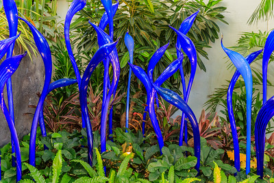 'Blue Herons' By Dale Chihuly