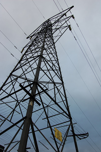 Pylon near Dartford crossing