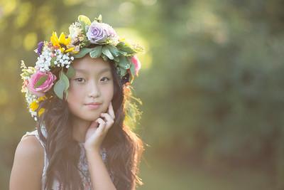 Ella Claire - 2017 - Floral Crown Session