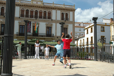 Play in the Square, Ronda, Spain © Harvey Cooper 2006