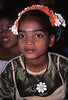 Girl in school play, Kanchipuram, India