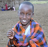Maasai Girl, Maasai Mara, Kenya
