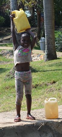 Happy Water Girl
