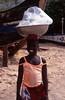 Girl selling water, Ghana