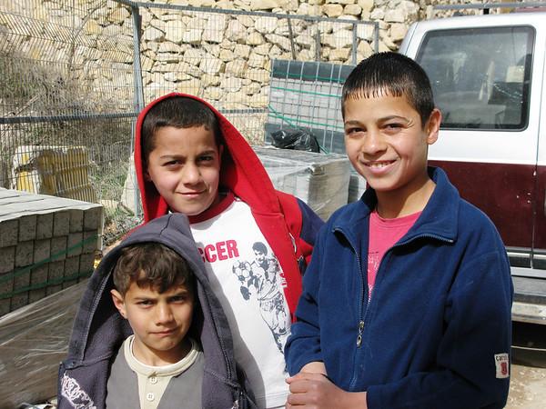 Israeli Arab Kids, East Jerusalem, Israel