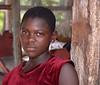 Girl in Akasambo Market, Ghana