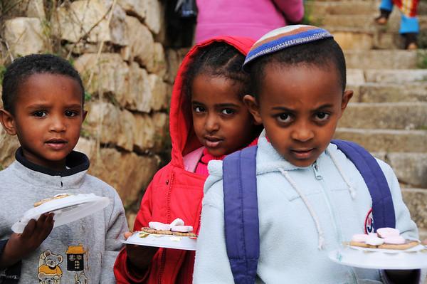 Ethiopian Israeli Children, Tsfat, Israel