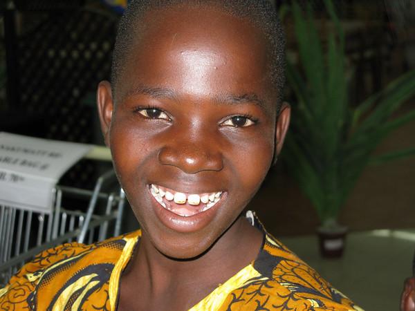 Girl in supermarket, Kisumu, Kenya, June - Sept 2009