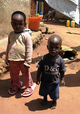 Kamwokya Kids with Big Shoes