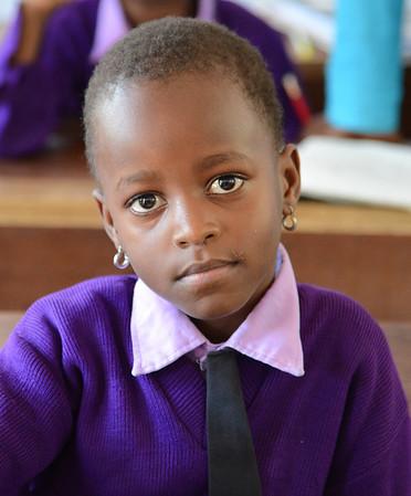 School Girl, Mererani, Tanzania