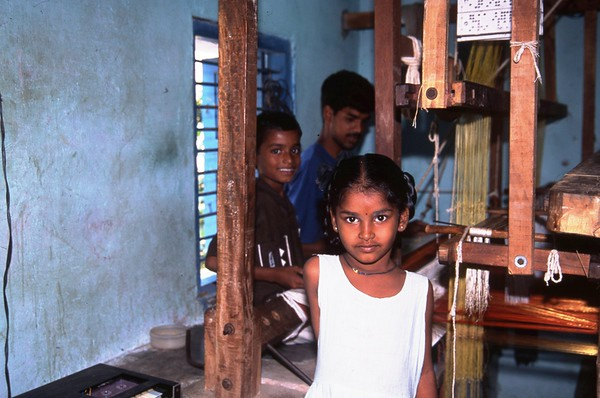 Child Laborers, Kanchipuram, India