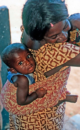 Mother and Child, Ghana