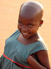 Kamwokya Girl with Hands in Dress