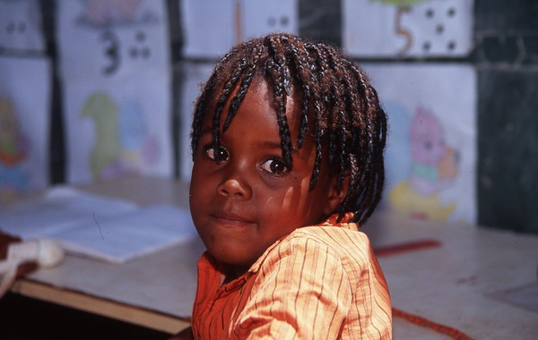 This girl was orphaned by Aids, and lived in Rehoboth, Namibia, some 80 km from the capital city of Windhoek.  This photo was taken during the 3 1/2/ month volunteer assignment with an NGO in Namibia that was woriking to support orphans and vulnerable children, mostly because their parent(s) had died from AIDS.