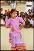 Indian Girl Dancing, Kanchipuram, Tamil Nadu, India