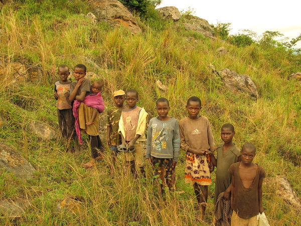 Children in Kanungu