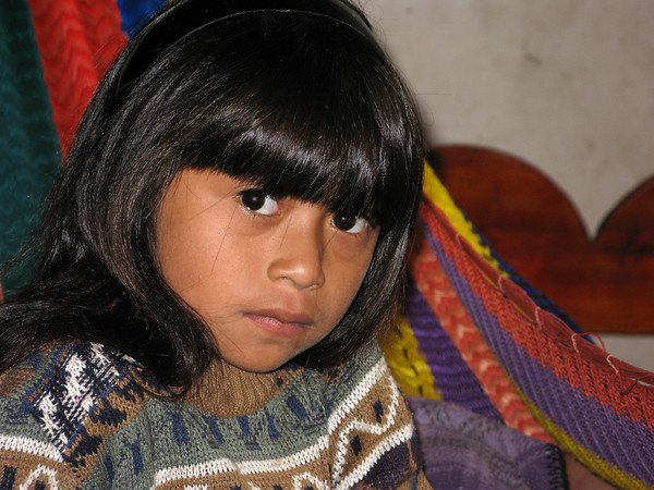 "I took this photos of a young Mayan girl in the village of Muchuxcah, Yucutan, Mexico while doing some volunteer work with a small local NGO - ""HST"""