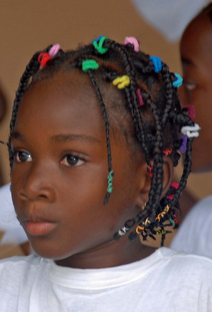 Colored Plaits, Accra, Ghana