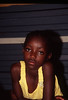 Namibian Girl in Yellow Blouse