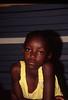 Namibian Girl in Yellow Blouse