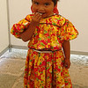 The Littlest Huichol Girl Enjoying Her Candy