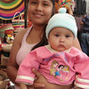 Little Nahua, 'Frida' With Her Mother In Taxco