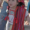 A Pretty Little Festival Girl In Her Country-Girl Clothing
