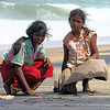 "Indian gypsy sister on Chennie beach. These girls collect sea shells and make key rings. They make about $1 per day.<br /> <br /> *+ALL MONEY RAISED FROM SALE OF MY ART, AND DONATIONS MADE VIA OUR CHARITY WEBSITE, GOES TO HELP THESE PRECIOUS CHILDREN. WE TAKE NOTHING OUT OF WHAT YOU GIVE TOWARDS CHARITY OVERHEADS. WE ARE NOT SALARIED AND COVER OUR OWN TRAVEL EXPENSES. SO ALL THAT YOU GIVE GOES TO THESE CHILDREN+*<br /> <br /> To make a donation, or find out more, Please visit our Charity Mission website: *""http://www.philadelphia33.org/*"" <a href=""http://www.philadelphia33.org/"">http://www.philadelphia33.org/</a>"