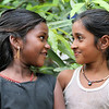 "Rajani [on the Left] means night and Dayita means beloved.<br /> <br /> Ranjani is full of life and both Ranjani and Dayita insisted they had their photographs taken. They are not sisters but are almost insuperable. Both are Orphaned and the Grandmother of Ranjani looks after both these children. Like almost all in Kallaporum gypsy camp, they have not gone to school, as the Grandmother cannot afford school fees, uniforms and text books. Dayita on the Right of this photo is deaf in the left ear, and has balance problems.<br /> <br /> Kallaporum camp has no clean water, No toilets and no electricity.<br /> They live in home made shelters made from mud, sticks and plastic sheeting. They have no land of their own and the landowners will not allowed them to grow food on their land, even though most of the land surrounding this camp is vacant. These Gypsy children face terrible harassment and discrimination, just because they are at the bottom of the Hindu Caste system. treated as Outcasts and known as Untouchables. But God Loves them and he cares. To him they are very precious.<br /> <br /> Please Help me and the Philadelphia Mission Charity, to raise the money to drill a deed communal bore well. Also Children's clothing, Schools fees, and other needed help. Many children die here because of lack of food and contaminated water. Anyone want to sponsor Rajani & Dayita? Let me know.<br /> <br /> ALL MONEY RAISED FROM SALE OF MY ART, DONATED ART AND DONATIONS MADE VIA OUR CHARITY MISSION WEBSITE, GOES TO HELP EXTREME POOR, SICK AND OUTCAST IN REMOTE AND RURAL VILLAGES IN AFRICA AND GYPSIES IN INDIA.. WE NEVER TAKE A SINGLE PENNY OUT OF WHAT YOU GIVE..<br /> <br /> *+ALL MONEY RAISED FROM SALE OF MY ART, AND DONATIONS MADE VIA OUR CHARITY WEBSITE, GOES TO HELP THESE PRECIOUS CHILDREN. WE TAKE NOTHING OUT OF WHAT YOU GIVE TOWARDS CHARITY OVERHEADS. WE ARE NOT SALARIED AND COVER OUR OWN TRAVEL EXPENSES. SO ALL THAT YOU GIVE GOES TO THESE CHILDREN+*<br /> <br /> To make a donation, or find out more, Please visit our Charity Mission website: *""http://www.philadelphia33.org/*"" <a href=""http://www.philadelphia33.org/"">http://www.philadelphia33.org/</a>"