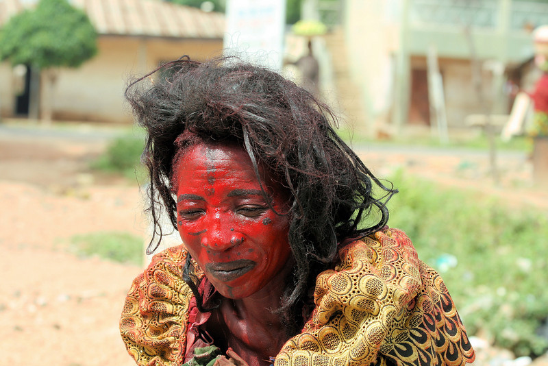 """<a href=""""http://www.philadelphia33.org/"""">http://www.philadelphia33.org/</a><br /> <br /> Taken while traveling to a isolated village in Nigeria. These people cause so much hurt to the locals. child sacrifice, although greatly diminished, is still practiced in some areas. They manipulate the people and use fear and superstition as a way to control the people and earn a living for themselves.<br /> <br /> I have seen it many times and their power is destructive if left unchallenged. Medicine and herbal doctors can do good. But Full blown witchdoctors practice dark medicine that only causes hurt and death, especially to children.<br /> <br /> As a missionary and work within villages, I have seen children demonstrated by people and in some cases killed. I shared Jesus with her, and she is now a Christian and we helped her start a new business selling clothing and other items.<br /> <br /> 100% of all proceeds from sale of art and donations made via our Charity website, goes towards helping extreme poor in rural and isolated villages in Africa.<br /> <br /> Donate some of your art and save a child's life!<br /> <br /> Please visit<br /> <a href=""""http://www.philadelphia33.org/"""">http://www.philadelphia33.org/</a>"""