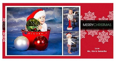 holiday card samantha