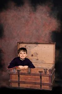Open Antique Trunk2