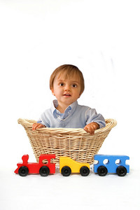 Train and Basket