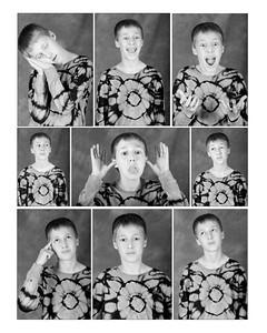 Ryan Faces1 16x20 BW
