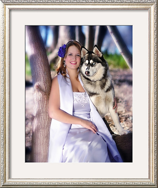 """This Elegant Victorian Style Wall Portrait measures 16"""" x 20"""" (Finished Size: 23"""" X 27"""") and comes ready to hang with a charming Roma Champagne Frame skillfully set in a Crisp Bright - White Top Mat.  Your Beautiful Framed Portrait will arrive Watermark Free and ready to hang in your favorite room. Custom Framed Portraits make excellent Holiday Gifts for your Family and Friends to enjoy and cherish for a lifetime – A timeless gift that always keeps on giving.  If you would like to order this stunning portrait, please E-mail me at <A HREF=""""mailto:MarianaRobertsPhotography@gmail.com"""">MarianaRobertsPhotography@gmail.com</A> with your request(s).  You are welcome to choose from 3 (three) different Portrait sizes listed below to compliment your beautiful home.  Available Print Sizes for this Lovely Portrait:  11"""" x 14"""" 16"""" x 20"""" 18"""" x 24""""  If you would like to change the Style, Color or Size of the frame please E-mail me and I will send you a sample page of the custom frames I have available for you to choose from.  You may also request to change the color of the Top and Bottom Mats to fit the Décor of your beautiful home. Please send me E-mail or Facebook Message if you would like to order an Elegant Framed Wall Portrait. I will be very delighted to E-mail you with a complete list of custom framed portrait prices upon request.  My Contact Information:  Phone: (315) 409 - 6893 ( Text Messaging NOT Available )  E-mail: <A HREF=""""mailto:MarianaRobertsPhotography@gmail.com"""">MarianaRobertsPhotography@gmail.com</A>"""