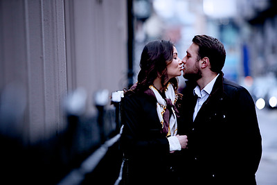 """lovers"" - Valentines portrait location shoot - London"