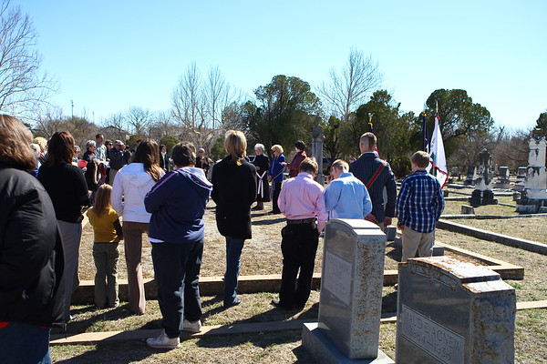 Grave Marking and Chartering (Georgetown TX) 3.1.2009