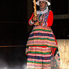 "A teenage girl folk dancer for the Ballet Folflorico"" in Lima, Peru."
