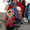 Sunday is church and market time in Pisac. This was taken at Pisac Market just outside the city of Cusco, Peru.