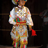 A boy in full historic costume in Lima, Peru.