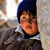 A boy in one of the village of the high plains of Peru.