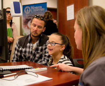 Children with severe visual impairment receive donation of life-changing high-tech vision aids at WesternU