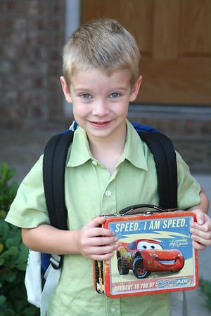 08-21-2006 First Day of Kindergarten