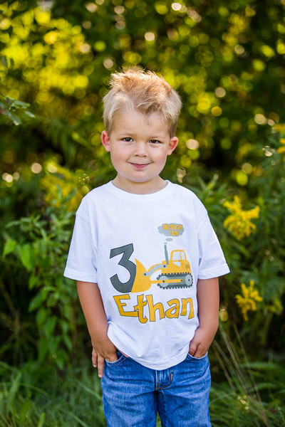 Ethan is 3!