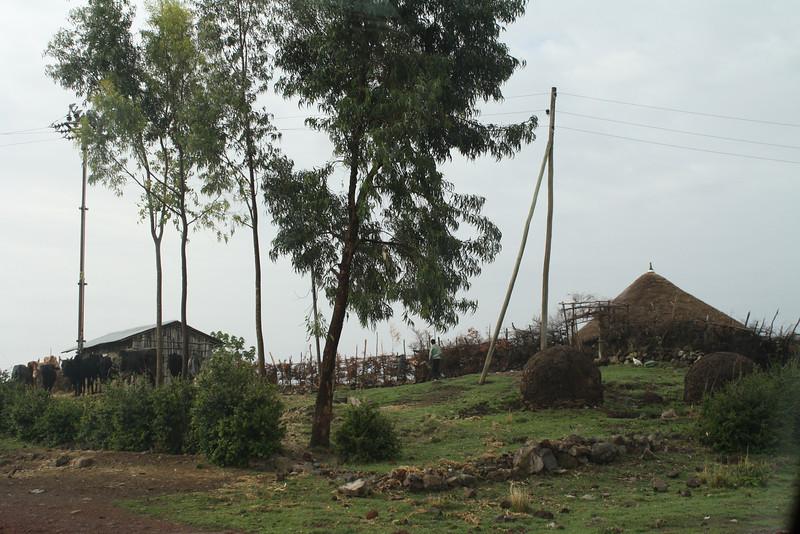 Small farming areas