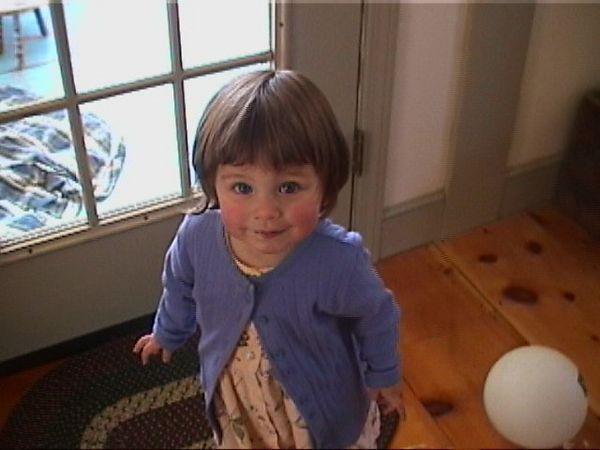 Ana's new dress, 15 April 2001 - 2