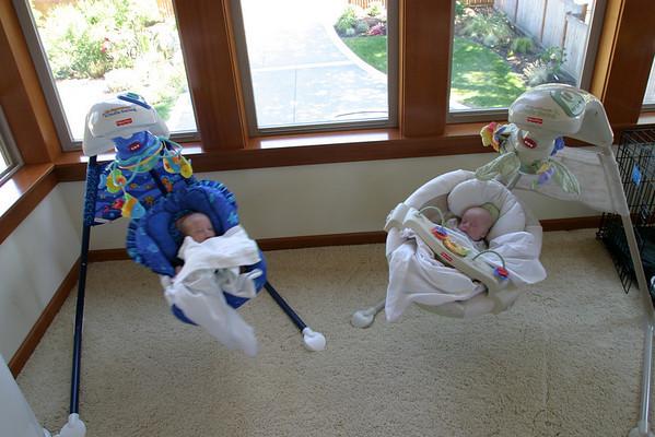 Aaron, Kaitlyn and Hannah - July 2006