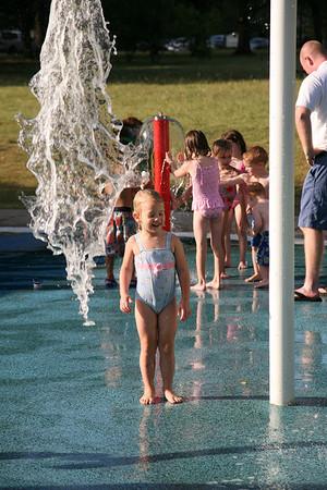 2008 June 9 Sophia at the splash park