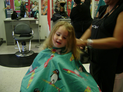 Rebekah's 1st haircut