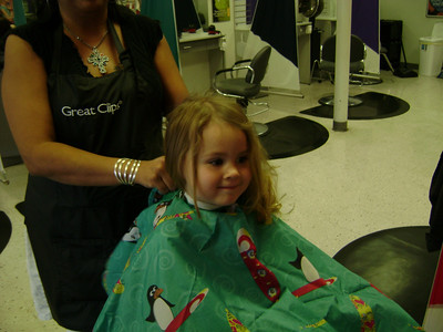 Rebekah's 1st haircut (3)